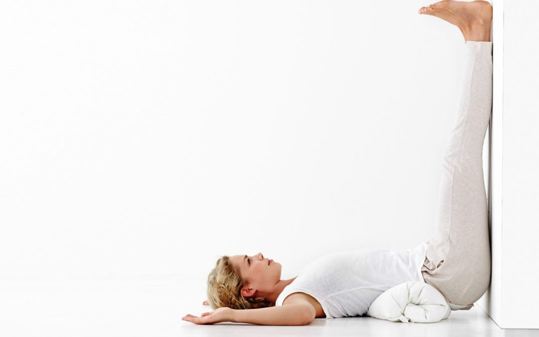 Yoga for Fertility: Legs up the Wall Pose