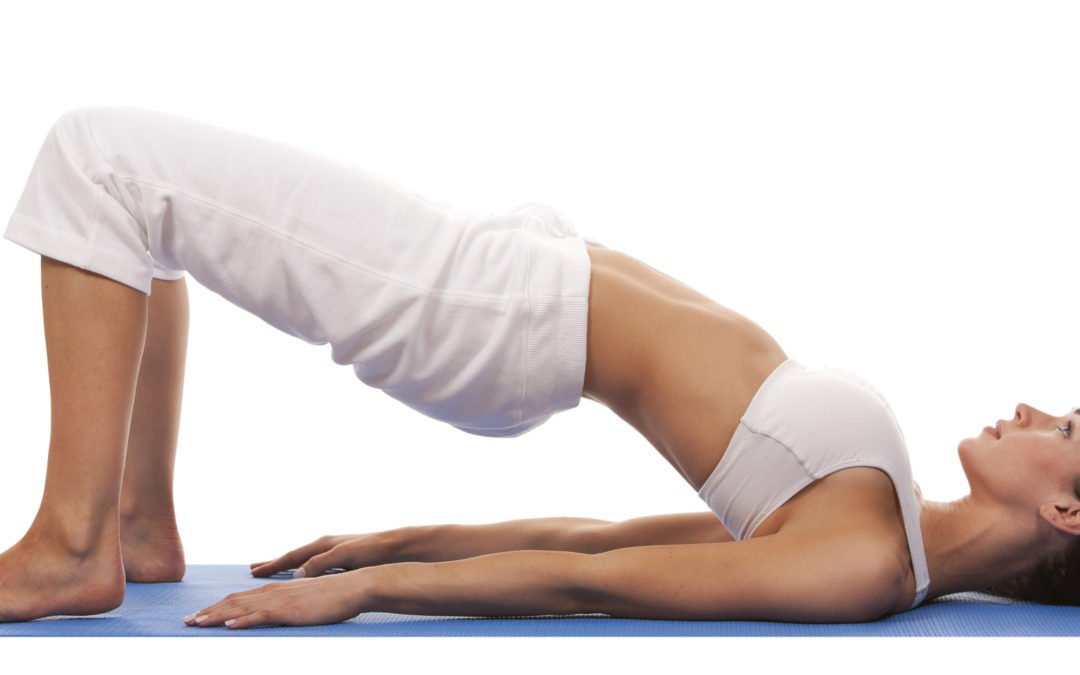 Yoga for Fertility: Supported Bridge Pose