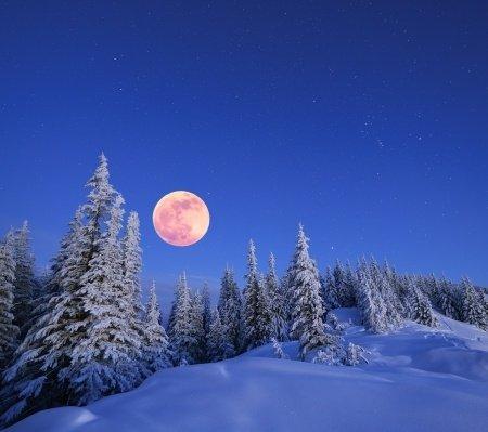 Happy Full Cold Moon & Winter Solstice