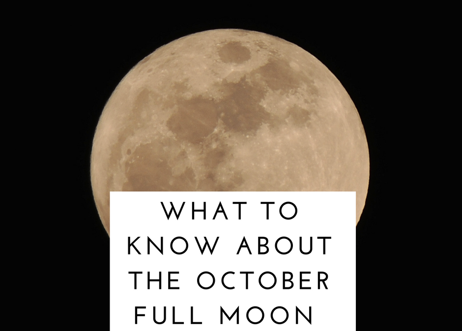 What to know about October's Full Blood Moon