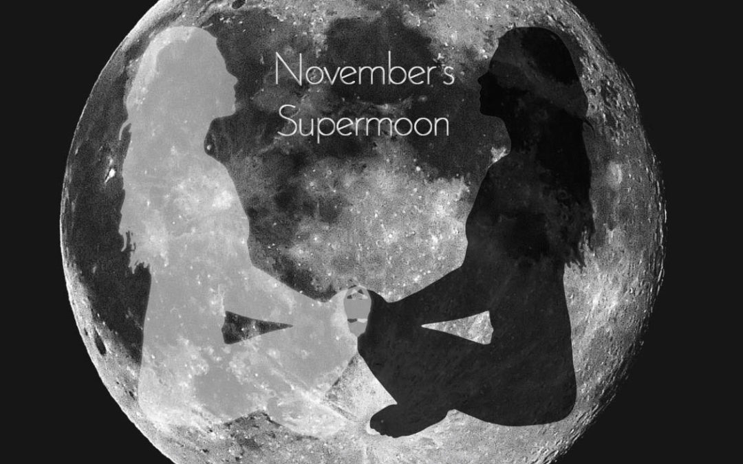 November's Supermoon Sandwich (the biggest in 70 years!)