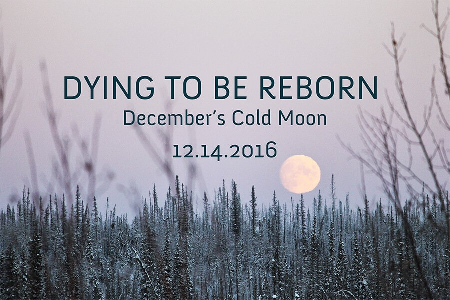 Dying to Be Reborn with December's Full Cold Moon
