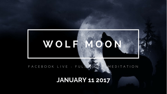 Setting Intentions with January's Full Wolf Moon