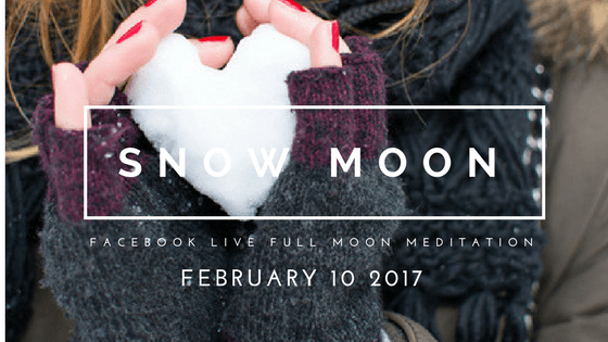 Tuning into Feminine Energy with February's Full Snow Moon