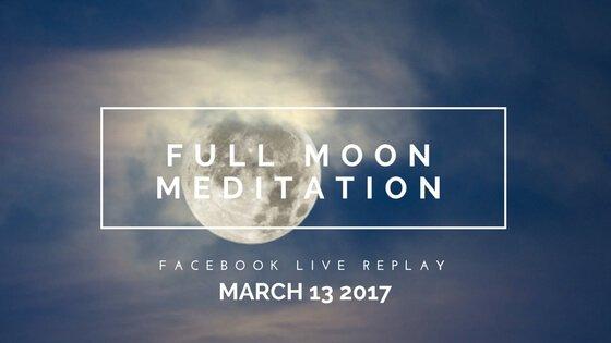 Period Power Worm Moon Meditation