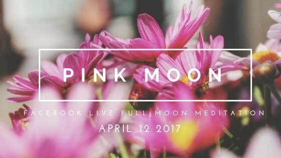 Inviting Springtime Energy with April's Full Pink Moon