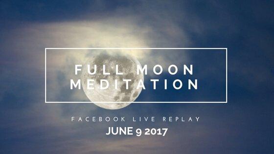 Strawberry Moon Meditation