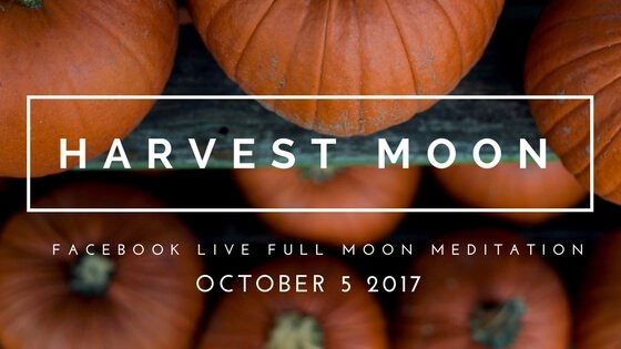 Womb Wisdom with October's Full Harvest Moon