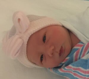 Jessica baby daughter