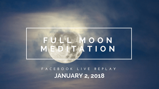 Reflection & Release with the New Year Supermoon