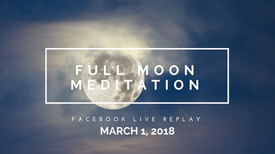 What is Ready to Thaw Within You? Meditate with the Full Sap Moon