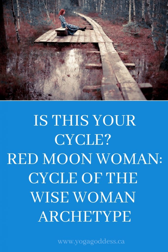 Is This Your Cycle? Red Moon Woman