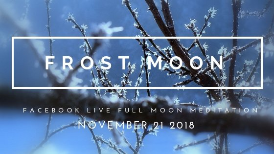 Let the Full Frost Moon Call You into Timelessness