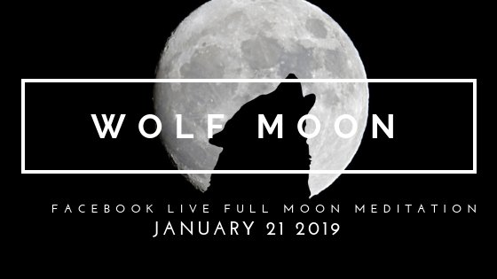 Join Your Goddess Wolf Pack on the Super Blood Moon