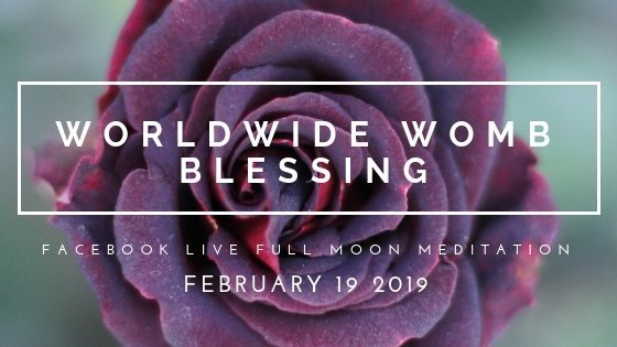 Join Me for Womb Renewal with the Worldwide Womb Blessing