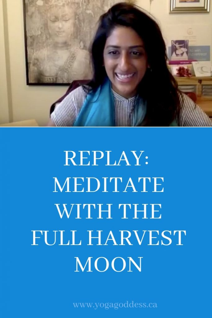 Meditate with the Full Harvest Moon