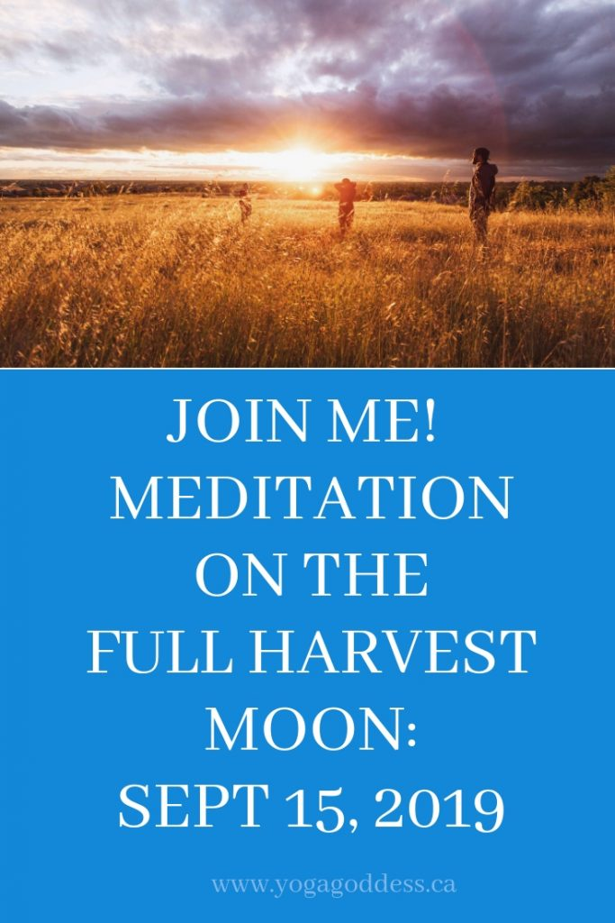 Dance Your Changes with the Full Harvest Moon