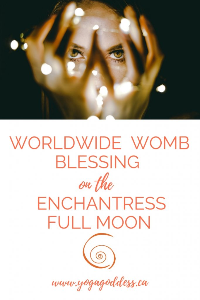 Step Into the Enchantress with this Worldwide Womb Blessing