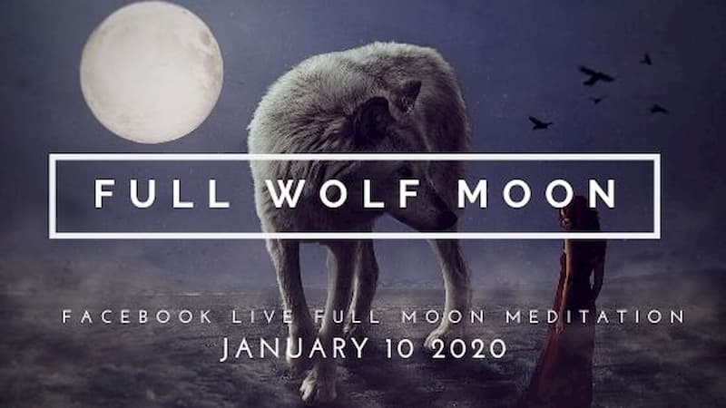 Meditate With the First Full Moon of 2020