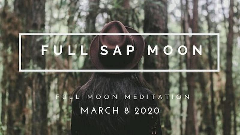 Celebrate Feminine Energy Awakening on the Full Sap Moon