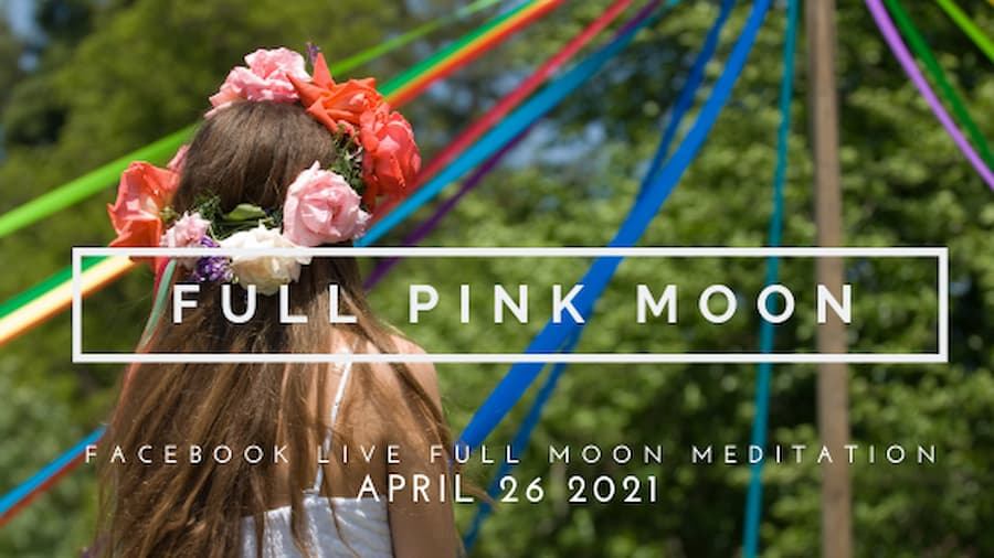 Let's Celebrate Under the Full Pink Supermoon